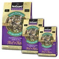 Pet Guard Premium Chicken Cat and Kitten Dry Food, 4 Pound -- 3 per case. -- Check this awesome product by going to the link at the image. (This is an affiliate link and I receive a commission for the sales)