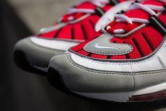 NIKE AIR MAX 98 (UNIVERSITY RED)   Sneaker Freaker