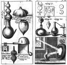 Symbols of Alchemy and Hermetic Arts