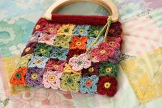 Blossoming Bag pattern by Sandra Paul