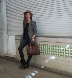 RESPUESTAS SEPTIEMBRE Fashion Moda, Urban Fashion, Looks Sara Carbonero, Fall Winter Outfits, Winter Fashion, Rock Style, My Style, Sous Pull, Best Wear