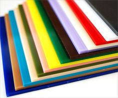 Our premium acrylic sheets come in a wide variety of colors and ...