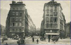 Le carrefour de l'Odéon en 1910