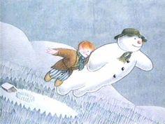 The Snowman - Raymond Briggs 25 Days Of Christmas, Father Christmas, Merry Christmas, Magical Christmas, Kids Christmas, Xmas, Raymond Briggs, Snowman Quilt, Christmas Drawing