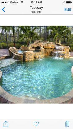 Swimming Pool Waterfall Design Project Id 476831