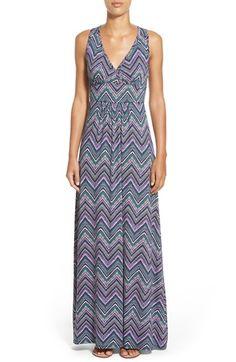 LOVEAPPELLA V-Neck Jersey Maxi Dress (Regular & Petite) available at #Nordstrom