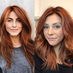 Glossy Rose - 20 Brilliant Rose Gold Hair Color Ideas for 2019 - The Trending Hairstyle Hair Color Auburn, Auburn Hair, Hair Color And Cut, Cool Hair Color, Red Hair Formulas, Natural Red Hair, Gold Hair Colors, Corte Y Color, Brown Blonde Hair