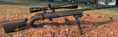 The Marlin XT-22 looks good with a big scope and a bipod, i may need to get a bipod in future