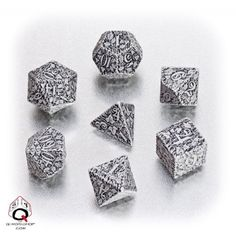 Forest Dice Set (Beige and Black) – Game Master Dice Cool Dnd Dice, Game Master, Forest Games, Rpg Dice, Dungeons And Dragons Dice, Dragon Dies, Workshop, Dice Bag, Beautiful Forest
