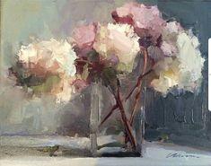 Resultado de imagen de oil painting flowers