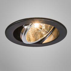Einbaustrahler Impact 3 schwarz #Einbaustrahler #Wohnzimmerbeleuchtung #Innenbeleuchtung #Lampe