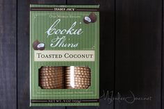 Trader Joe's Toasted Coconut Cookie Thins