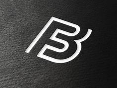 It can be read as a B also .... F3 Corporate Identity by Paragon Marketing Communications , via Behance