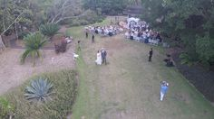 Schimmel Wedding Lawn and Pavilion at Selby Gardens, shot with drone by Sarasota Photographer Celebrations of Tampa Bay http://celebrationsoftampabay.com/wedding-photographers-sarasota/