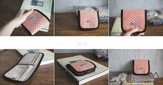 Simple Wallet Sewing Pattern. Step-by-Step DIY Tutorial with Photos.