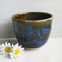 Hey, I found this really awesome Etsy listing at https://www.etsy.com/listing/210960643/yunomi-tea-cup-in-dark-brown-green-glaze