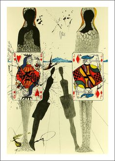 Salvador Dali, Alice in Wonderland