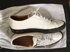 Common Projects Common Projects X Dsm White Camo 41 Size 8 $193 - Grailed