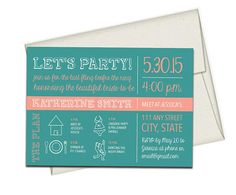 Printed Bachelorette Invites with Envelopes Hen Party. Click through to find matching games, favors, thank you cards, inserts, decor, and more. Or shop our 1000+ designs for all of life's journeys. Weddings, birthdays, new babies, anniversaries, and more. Only at Aesthetic Journeys