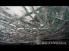 Chunk Of Ice Flies Off Of Car On Highway And Smashes The Windshield Another Car - http://blog.clairepeetz.com/chunk-of-ice-flies-off-of-car-on-highway-and-smashes-the-windshield-another-car/