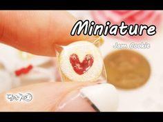 미니어쳐 잼쿠키 만들기 (+비닐포장) Miniature * Jam Cookie - YouTube