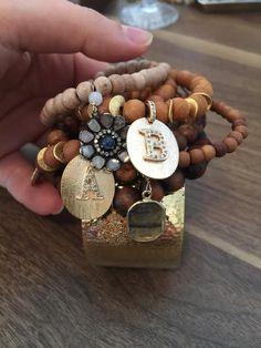 Trendy little bracelet; chic; a little boho; eye-catcher; want it now.