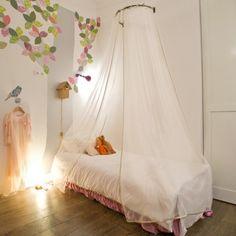 1000 images about ciel de lit lit badequin on pinterest canopies marie claire and coeur d. Black Bedroom Furniture Sets. Home Design Ideas