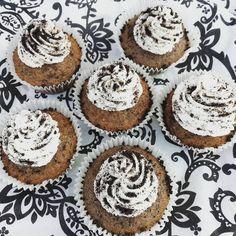 Oreo goodness🍪 #oreocupcakes #2 #gourmetcupcakes #yummy #experimenting #success #delishbakes #bakedwithlove Gourmet Cupcakes, Oreo Cupcakes, Delish, Success, Good Things, Baking, Desserts, Instagram, Food
