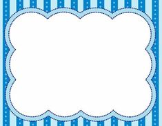 Blue Frame ables Marcos para fotos infantiles or Poster - Buy more Prints at Wallpart Boarders And Frames, Printable Frames, Colorful Frames, Borders For Paper, Frame Clipart, Binder Covers, Baby Cards, Journal Cards, Hand Lettering