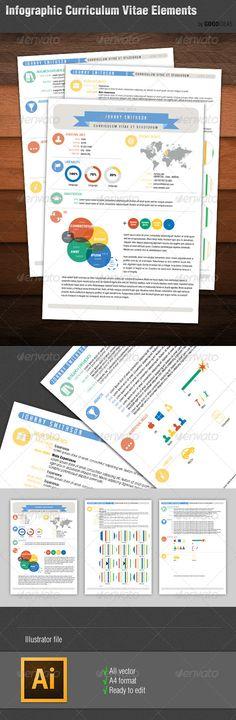 Pro Infographic Resume Infographic resume, Infographic and Fonts - infographic resume template
