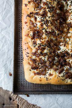Pletzl – Jewish Onion Bread #TwelveLoaves — A Shaggy Dough Story