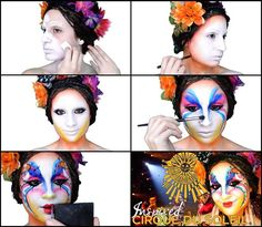 Circo del Sol / Cirque du Soleil Inspired Makeup FOLLOW ME ON YOUTUBE! ♥ VFashionland