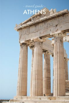 A QUICK GUIDE TO ATHENS #travel #guide