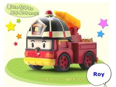 Robocar Poli Die-Cast Kids Toy Diecasting Figure Series Korea TV Animation -Roy #Academy