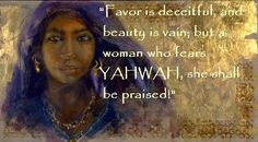 VIRTUOUS ISRAELITE WOMAN On being a Virtuous Woman