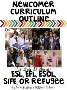 If you have newcomer or port of entry ESL, EFL, ESOL students and are wondering where to start, start here! This outline was compiled over the course of two school years, while I was teaching newcomers from 1st to 7th grades, none of whom had ever been to school before.