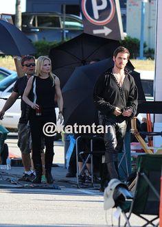 OUAT Season 4 Filming (July 16, 2014)