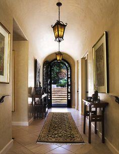 Montecito Villa - mediterranean - entry - santa barbara - by Dylan Chappell Architects