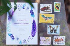 Moody Entomology Wedding Inspired Shoot | Lana's Shop