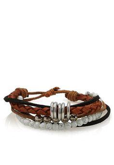 Fifteen Minutes stacked bracelets. Get them now via www.namshi.com