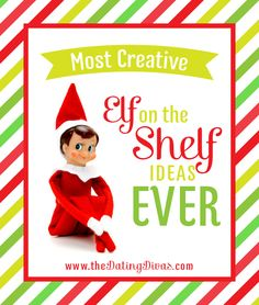 "Soooo many FUN ideas PLUS a free printable ""Elf on the Shelf"" calendar!"