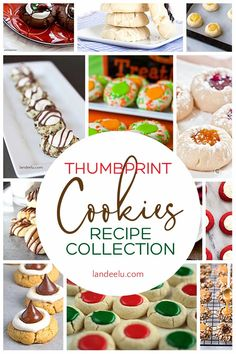 The holidays are coming up and that means ALL. THINGS. YUMMY!  One of my favorite holiday traditions is the ever-delicious Cookie Exchange! Today I've rounded up some of the prettiest, cutest and most delicious thumbprint cookies recipes for you to try!