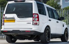 A rear view of the new Kahn Land Rover Discovery Kahn Design, Land Rover Discovery, Range Rover, Rear View, Offroad, 4x4, Automobile, Vehicles, Concept