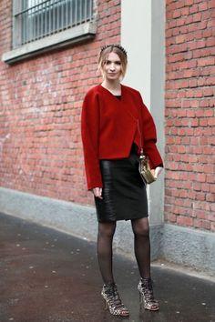 30 Street-Style Snaps From Milan Fashion Week