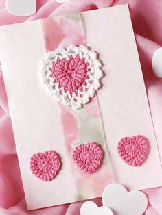 crocheted perfect pink hearts-free pattern download