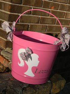 Personalized 10qt Easter Bucket by UPersonalized on Etsy, $27.00