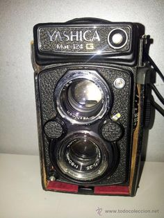 Yashica Mat 124-G - Loved this camera. Did the best black and white bridal shots ever. An oldie but a goodie!