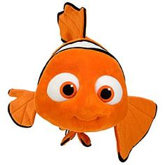 Disney Nemo Plush Toy - 16'' | Disney StoreNemo Plush Toy - 16'' - This adorable little fish is no guppy. Soft and cuddly, he's sure to swim right into your heart.