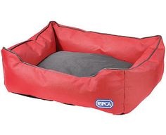 Expert Verdict RSPCA Extra Tough Water-Resistant Dog Bed, So well designed it's endorsed by the RSPCA, this large rectangular dog bed is made in thick, hard-wearing polyester. Its closely-woven texture not only resists water, but also prevents pet hair becom http://www.MightGet.com/january-2017-11/expert-verdict-rspca-extra-tough-water-resistant-dog-bed-.asp