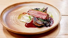 Crispy SkinDuck, Charred Shallots and Cherry Sauce Duck Recipes, Home Recipes, Network Ten, Micro Herbs, Masterchef Recipes, Cherry Sauce, Easy To Cook Meals, Master Chef, Delish
